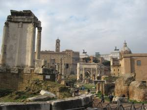 """Roman Forum Today"""